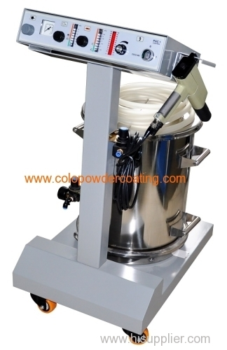 Electrostatic spray paint machine