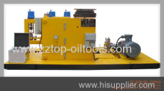 Oilfield Electric pressure test unit