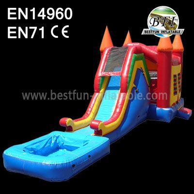 Happy Jump On In Bouncy Castle Combo
