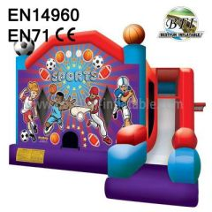 Popular Inflatable Sports Game Bouncers For Sale