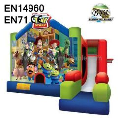 Pretty Fun Inflatable Toy Story Bounce House