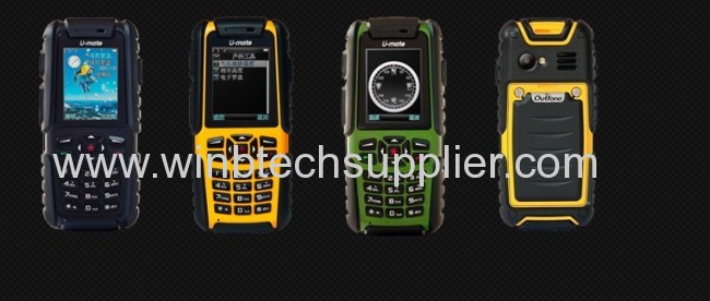 Best Multi Functional Outdoor Rugged Phone gps