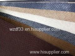 Classic animal design pu leather