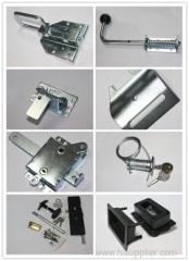 Garage door handles and locks