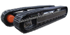 factory directly offered steel track undercarriage steel crawler track undercarriage