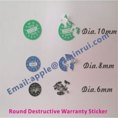 Warranty Seal Stickers for Mobile Phones