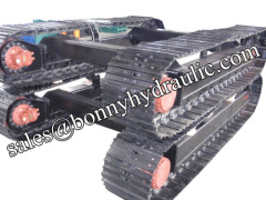 steel track undercarriage track system manufacturer