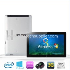 11.6inch windows 8 3g tablet pc I 5 CPU or Intel Celeron 1037 ULV cpu