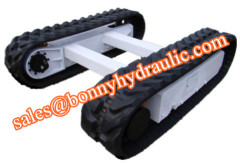 rubber tracked undercarriage 1-60 ton