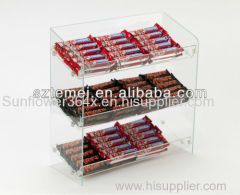 Retail 3tiers Acrylic Confectionary Display