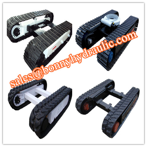 china steel and rubber track undercarriage manufacturer