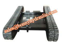 drilling rig rubber track system track undercarriage