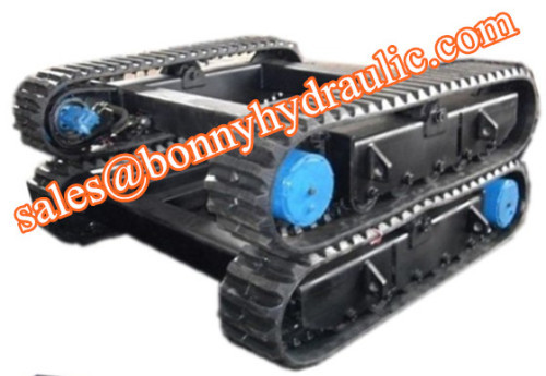 custom built rubber track undercarriage 1-50 ton
