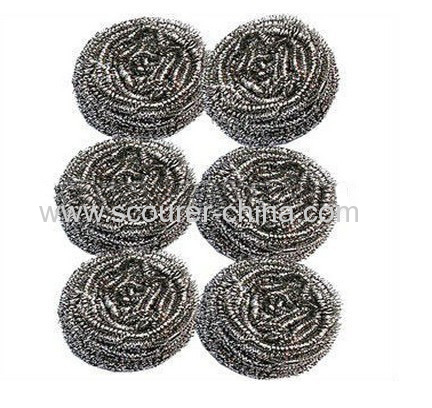 Strong cleaning stainless steel cleaning ball spiral scourer 6g/pc-80g/pc