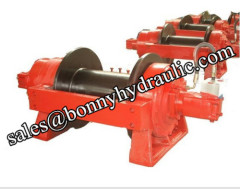 self recovery hydraulic winch