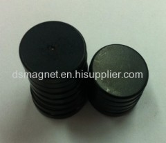 Sintered Ndfeb Magnet Disc with black epoxy