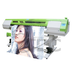 1.8M machine to print vinyl sticker/flex printting plotter