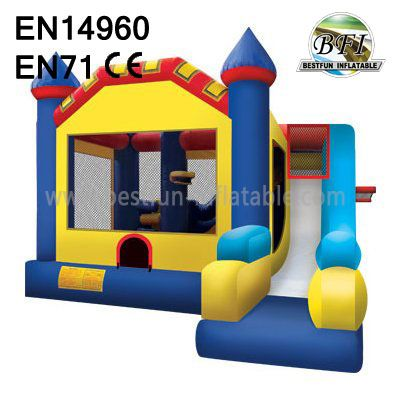 Hot Sale Inflatable Bounce House And Slide