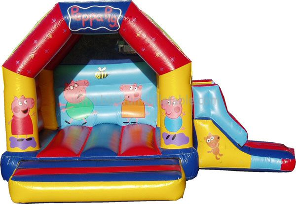 Peppa-pigBounce House And Slide Combi