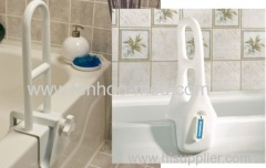 Bathtub grab bar rail handle