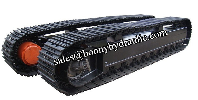45 ton steel track undercarriage