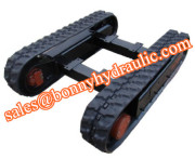 2 ton rubber track undercarriage