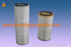 general powder recycle cartridge air filter