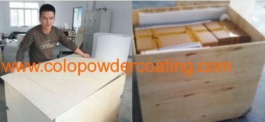 aluminium tube powder coating machine