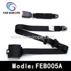 karting vehicle safety belt