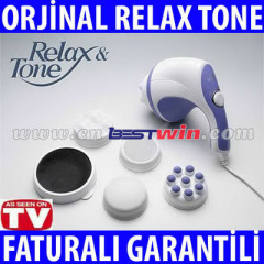Relax Massager Tone / corpo / como visto na TV Relaxe Tone Massager do corpo