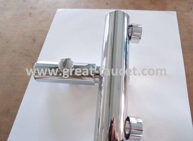 External single lever bath shower mixers