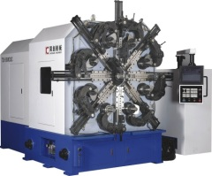 4 or 5 AXES CNC VERSATILE SPRING COILING MACHINE(WITH WIRE ROTATING)