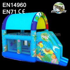 Inflatable Castle Combo Bouncer