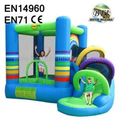 Inflatable Combo Slides Bounce House
