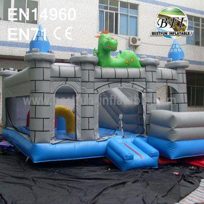 Cute Cartoon Animal Inflatable Castle Combo