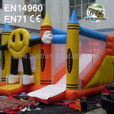 Happy Commercial Inflatable Combo Bouncer