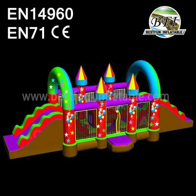 Jumping Bouncy Castle Slide Manufacturers