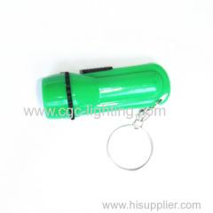 creative design plastic keychain flsh light