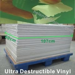 ultra destructible vinyl sticker sheet paper