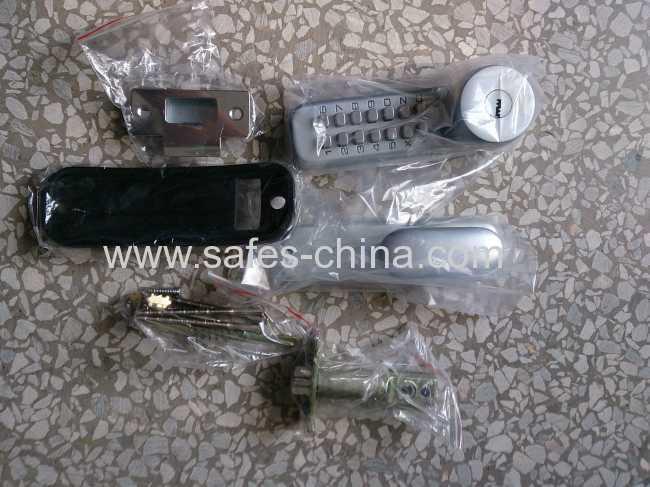 keless mechanical combination locks/ Key override locks