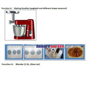 Multifunctin Die Cast Stand Mixer /Multifunctin Food Processor