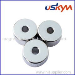 Sintered NdFeB Permanent Magnets with Ring Shape