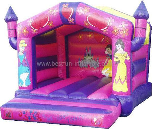 Pvc Inflatable Princess Bouncer Castle
