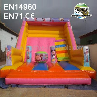 Mickey Mouse Inflatable Slide For Sale