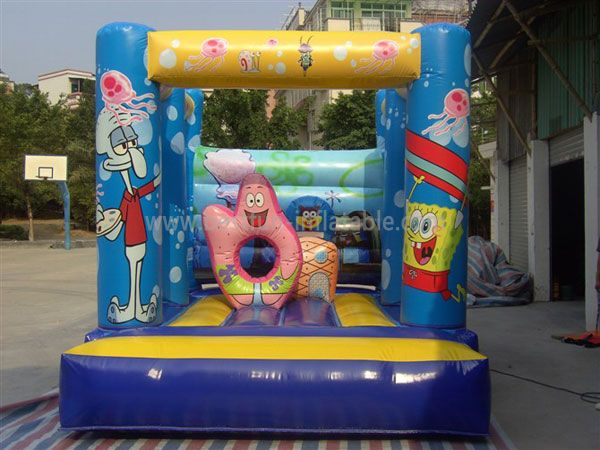 New Inflatable Spongebob Bouncers for kids