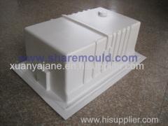 plastic refrigerator shell mould