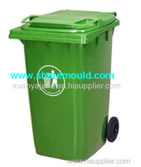 plastic injection rubbish bin mould