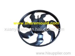 plastic injection auto fan mould