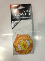 Manchester united paper air freshener