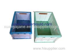 plastic injection folding box mould
